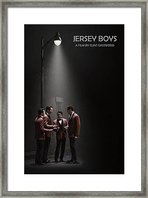 Jersey Boys By Clint Eastwood Framed Print by Movie Poster Prints