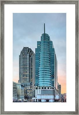 Jersey City Framed Print by JC Findley