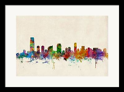 Jersey City Framed Prints