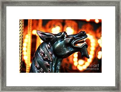 Jersey Devil Framed Print by John Rizzuto