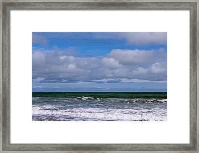 Jersey Shore Framed Print