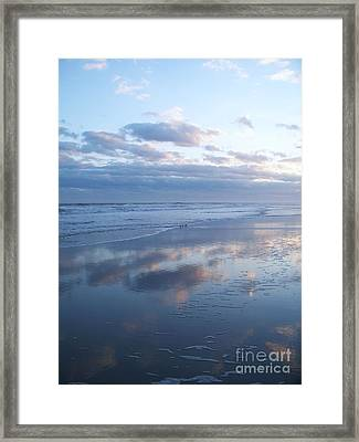 Jersey Shore Reflections Framed Print