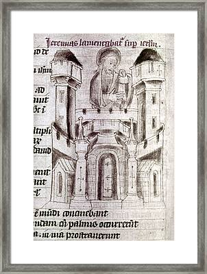 Jerusalem, 15th Century Framed Print by Granger