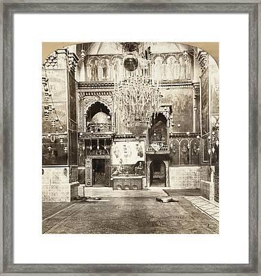 Jerusalem Armenian Church Framed Print