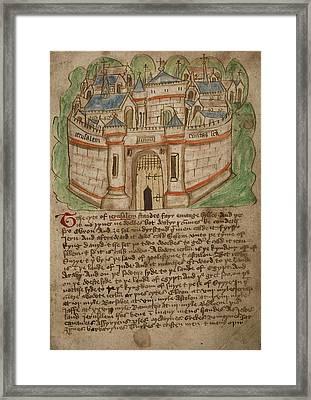 Jerusalem Framed Print by British Library