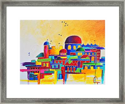 Jerusalem Framed Print by Dawnstarstudios