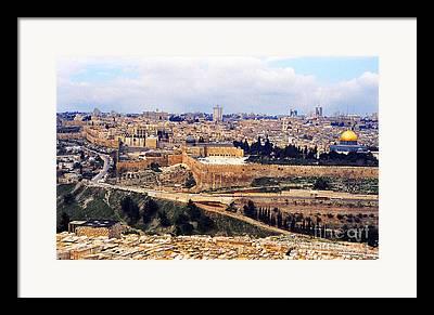Holy Land Photographs Framed Prints