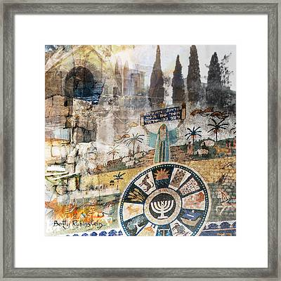 Jerusalem-old City-5 Framed Print by Betty Rubinstein