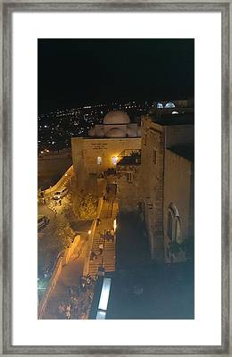 Jerusalem The Old City  Framed Print