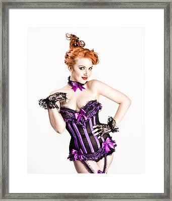 Jessamyn Defying Gravity Framed Print