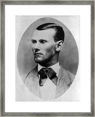 Jesse James Framed Print by Bill Cannon