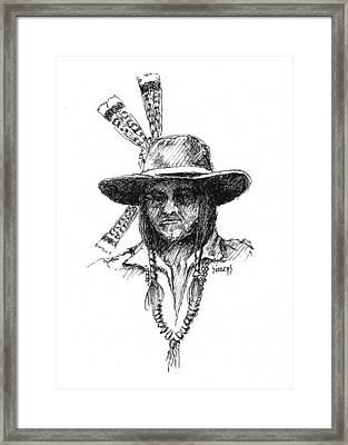 Jesse Framed Print by Sam Sidders