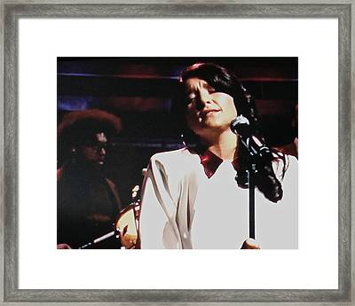 Jesse Ware And Questlove  Framed Print