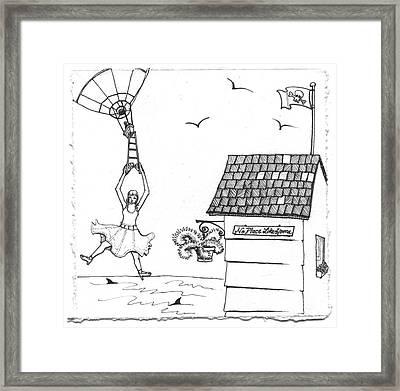 Jessica's Houseboat Part 5 Framed Print