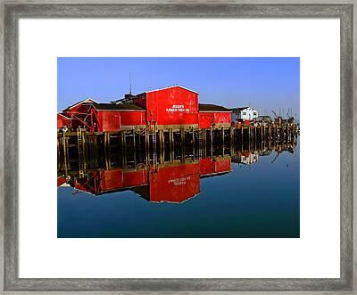 Jessies Ilwaco Fish Company Framed Print