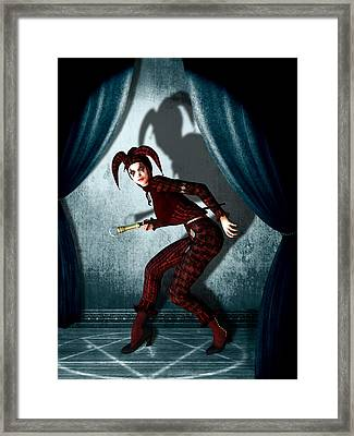Jester Framed Print by Britta Glodde