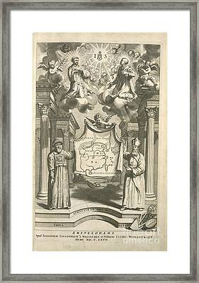 Jesuit Missions To China, 17th Century Framed Print by Science, Industry And Business Library