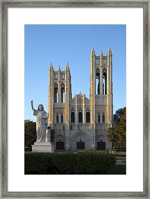 Jesus And Me Framed Print