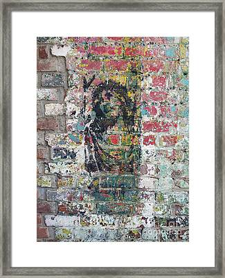Jesus At Noda Framed Print