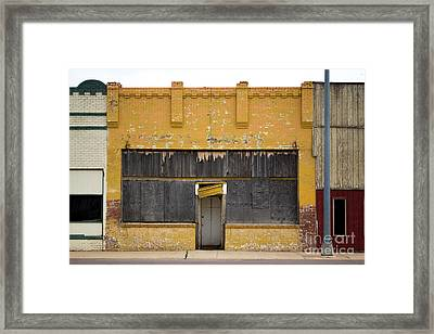 Jesus At The Door Framed Print by Derry Murphy