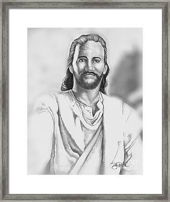 Jesus Framed Print by Bill Richards