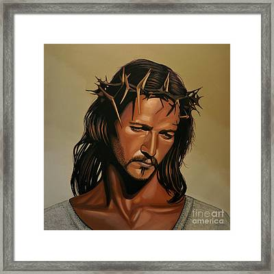 Jesus Christ Superstar Framed Print by Paul Meijering