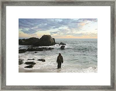 Jesus Christ- Come To Me Framed Print