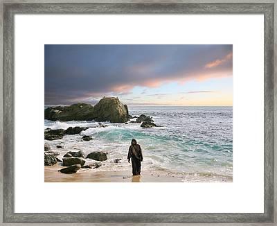 Jesus Christ- Do Not Fear For I Have Redeemed You Framed Print