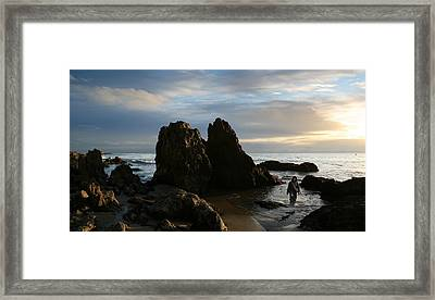 Jesus Christ- Fear Not For I Am With You Framed Print