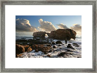 Jesus Christ- He Has Come From Heaven And Is Greater Than Anyone Framed Print