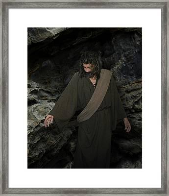Jesus Christ- Lazarus Come Forth Framed Print