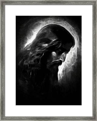 Jesus Christ Framed Print by Steve K