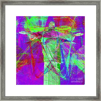 Jesus Christ Superstar 20130617m118 Square Framed Print by Wingsdomain Art and Photography