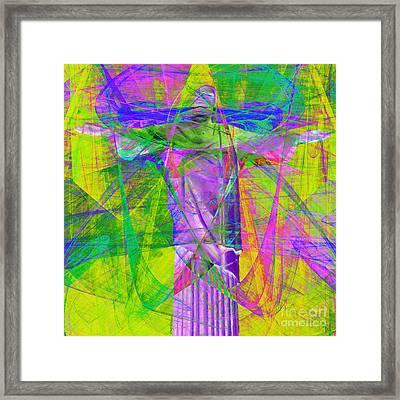 Jesus Christ Superstar 20130617p32 Square Framed Print by Wingsdomain Art and Photography