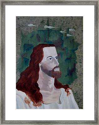 Jesus Christ Framed Print