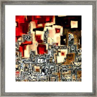 Jesus Christ The Cornerstone Framed Print by Mark Lawrence