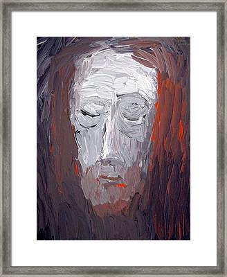 Veil Of Veronica 2014 Framed Print