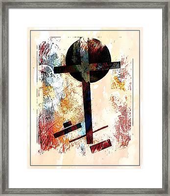 Framed Print featuring the photograph Jesus Christ_savior Of The World by Allen Beilschmidt