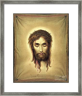 Jesus Christus 1876 Framed Print by Padre Art