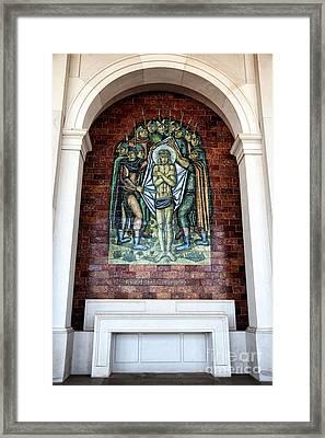 Jesus E Despido E Amargurado Framed Print by John Rizzuto