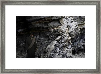 Jesus Entered Jericho Framed Print