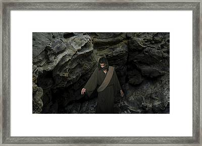 Jesus- He Cried With A Loud Voice Lazarus Come Forth Framed Print