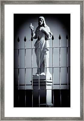 Jesus I Framed Print