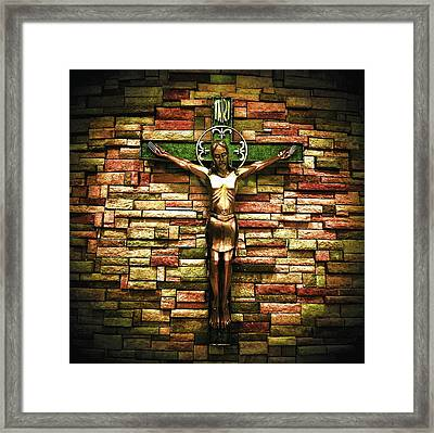 Jesus Is His Name Framed Print