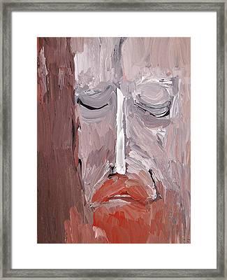 Jesus 2014 Framed Print