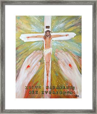 Jesus - King Of The Jews Framed Print