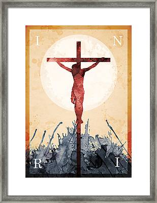 Jesus Our Savior Framed Print