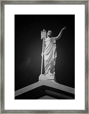 Jesus St Louis Cemetery No 3 New Orleans Framed Print
