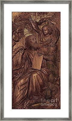 Jesus The Teacher Framed Print