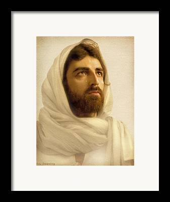 Jesus Artwork Digital Art Framed Prints